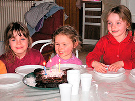 Goûter anniversaire à la ferme pédagogique du doux riez de l'Authie
