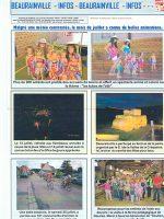 article de presse Beaurainville Infos sur la ferme pédagogique du doux riez de l'Authie